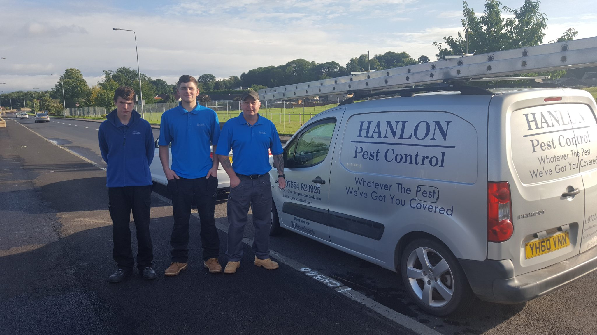 Hanlon Pest Control Team