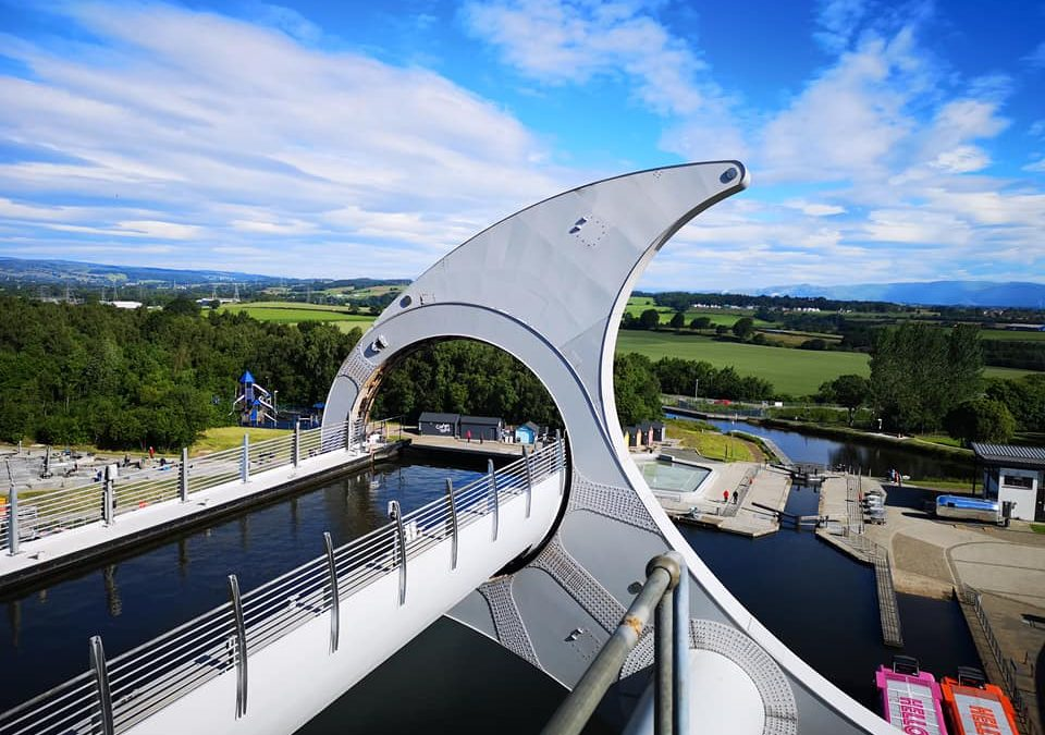 Falkirk Wheel Bird Proofing Project – Pigeon Pest Solutions